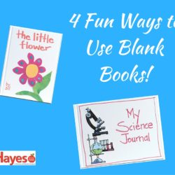 Blank Books: 4 Fun Ways to use Them